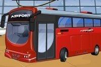 Aparca el autobús del aeropuerto