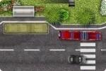 Aparca un autobús articulado