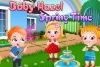Baby Hazel en Primavera