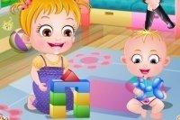Baby Hazel y su hermanito