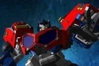 Carrera de moto Transformers
