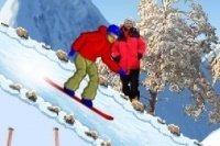 Carrera de Snowboard