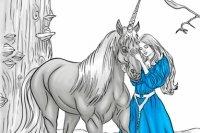 Colorea el Unicornio