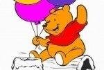 Colorea al oso Winnie the Pooh