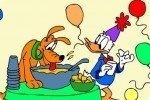Colorea al pato Donald