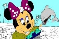 Colorea a Minnie 4