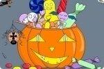 Colorea una calabaza de Halloween