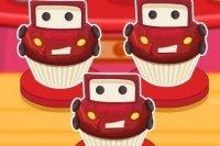 Cupcakes de Cars