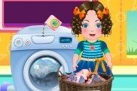 Daria lava la ropa
