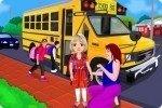 De camino a la escuela
