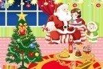 Decorar la habitación navideña