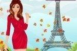 Día otoñal en París