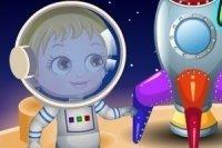 El amiguito extraterrestre de Baby Hazel