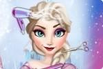 Elsa en la peluquería