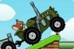 El tractor de Tom y Jerry