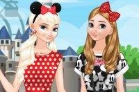 Hermanas Congeladas en Disneyland