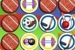 Juego de memoria de deportes