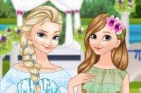 La Novia Elsa y la Dama de Honor Anna