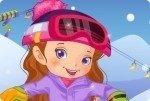 La chica del snowboard