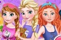 La fiesta de pijamas de Elsa