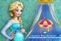 La habitación de bebé de Elsa