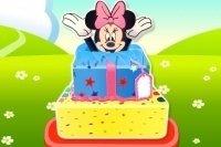 La tarta de cumpleaños de Minnie