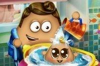 Lavar a Baby Pou