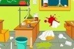 Limpia el laboratorio