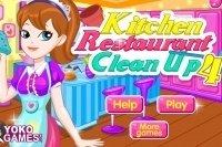 Limpiar la cocina