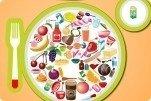 Objetos ocultos en el plato