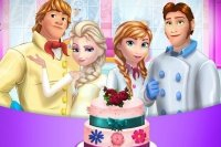 Pastel de boda de Frozen