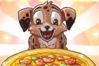 Pizza con cachorro