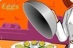 Prepara huevos mimosa