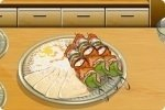 Prepara un kebab