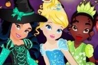 Princesas en Halloween