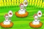 Recoge los huevos