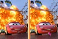 Siete diferencias de Cars