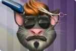 Talking Tom en la peluquería
