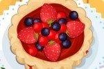 Tarta de cerezas templada