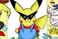 Viste a Pikachu