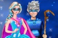 Vistiendo a Súper Elsa